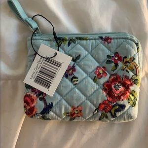 Vera Bradley Iconic Coin Purse in Water Bouquet